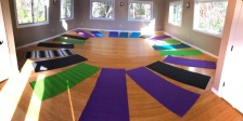 Forest Room Yoga Mats Circle